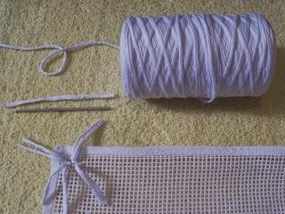 Enrhedando manualidades - Como hacer alfombras de nudos ...