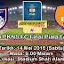 Harga Tiket Perlawanan Akhir JDT Vs PKNS 14.5.2016