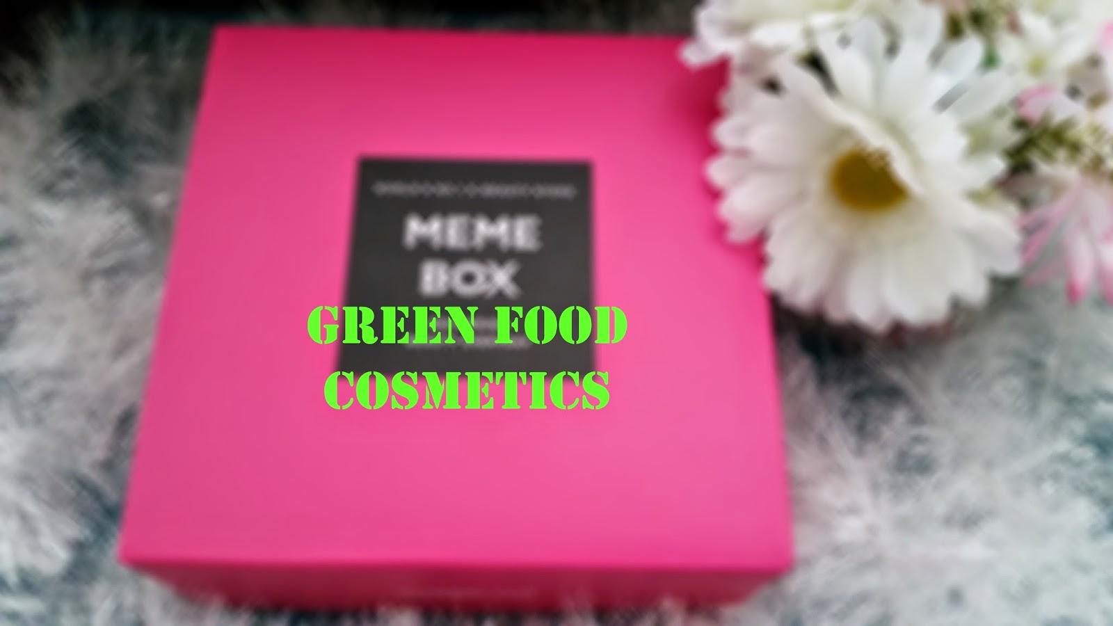 Memebox Green Food Cosmetics