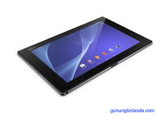 Cara Flashing Sony Xperia Z2 Tablet LTE SGP521 Via Flashtool