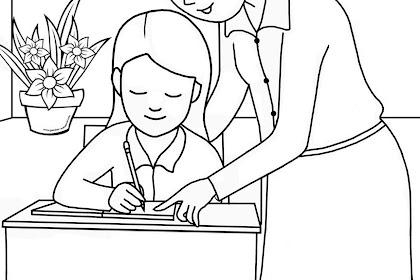 Semua Posting Tentang Contoh Gambar Mewarnai Hari Guru Ada