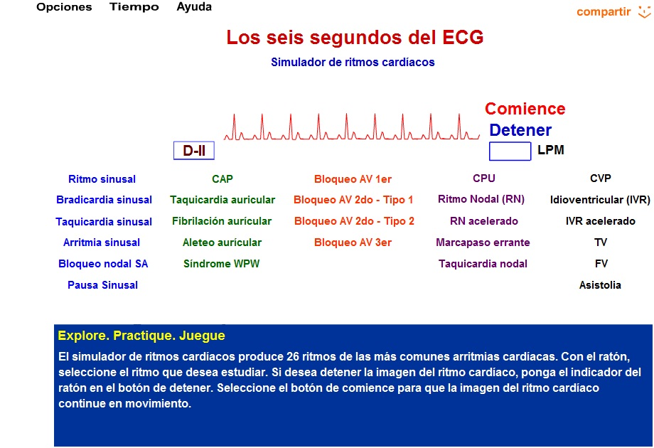 Simulador Electrocardiograma Descargar Gratis Free Download