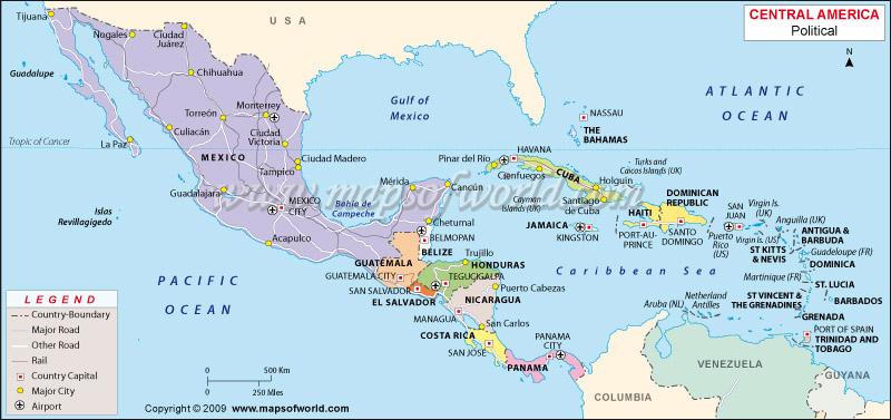 közép amerika országai térkép 1 year trip around the world: Guatemala, az elso benyomasok Kozep  közép amerika országai térkép