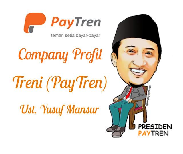 Bisnis MLM Paytren atau TRENI Yusuf Mansur