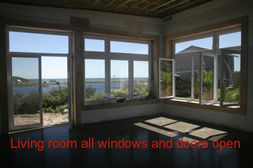 wo ways to open windows and doors called tilt and turn... European style windows from Polytech Products Ltd.