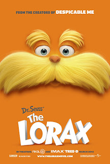 The Lorax 2012 Dual Audio Hindi BRRip 150Mb hevc