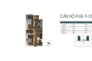 Mặt bằng và thiết kế căn hộ 440 Vĩnh Hưng