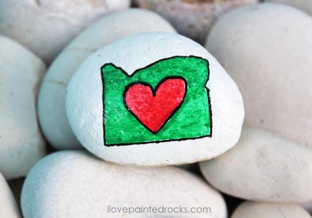Oregon rock painting ideas
