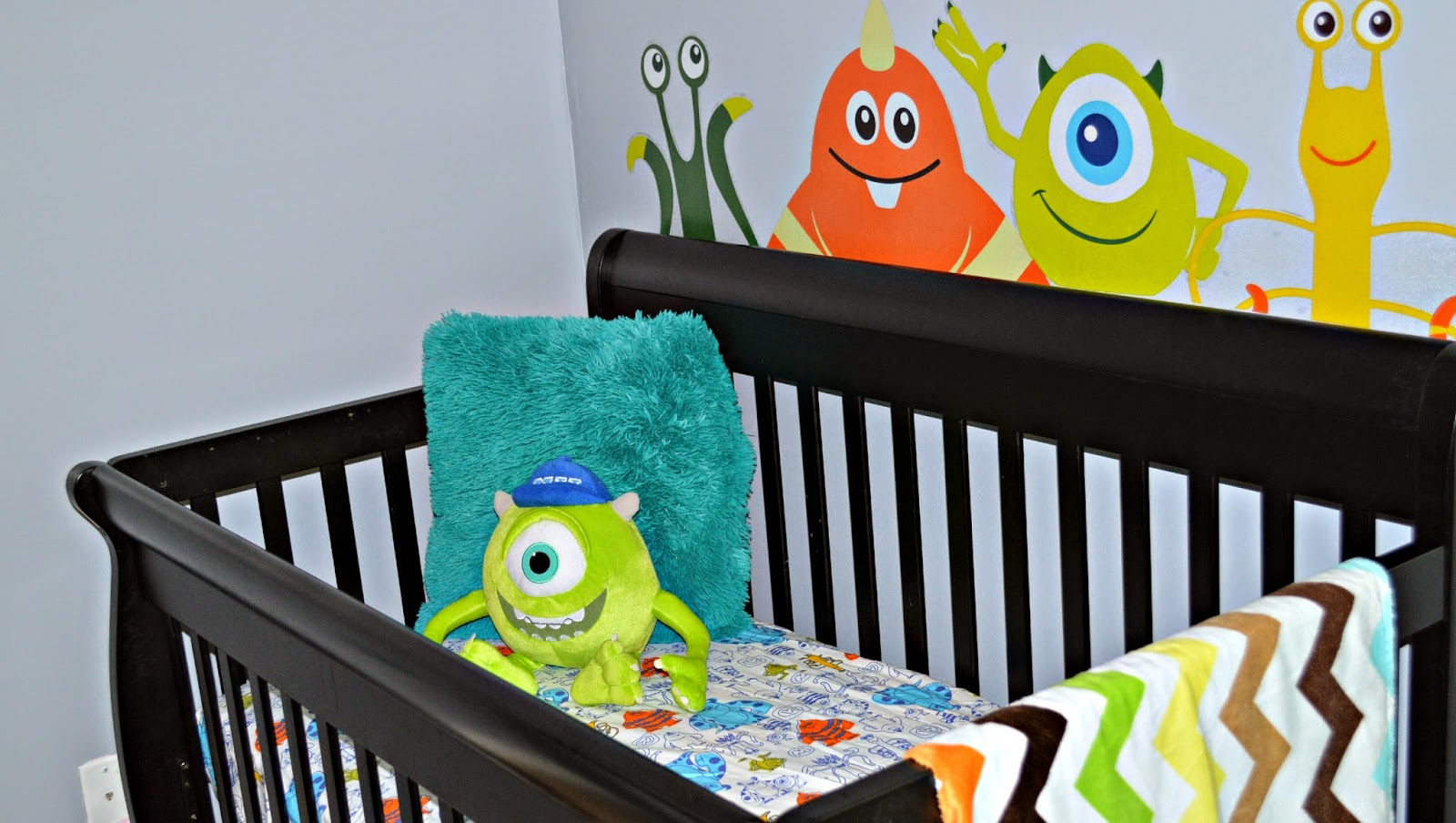 monsters inc crib bedding - 28 images - crib bumper window ...
