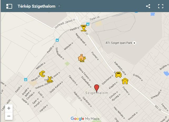 szigethalom térkép Szigethalom térkép   Hu1.TV   Szigethalom