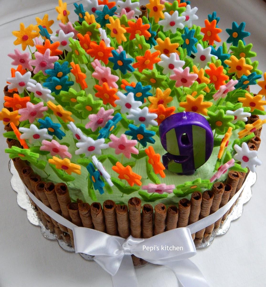 Pepi's Kitchen In English: Spring Birthday Cake