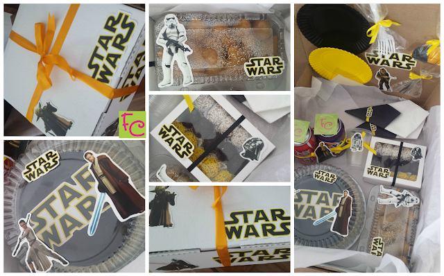Festa na Caixa - Tema Star Wars