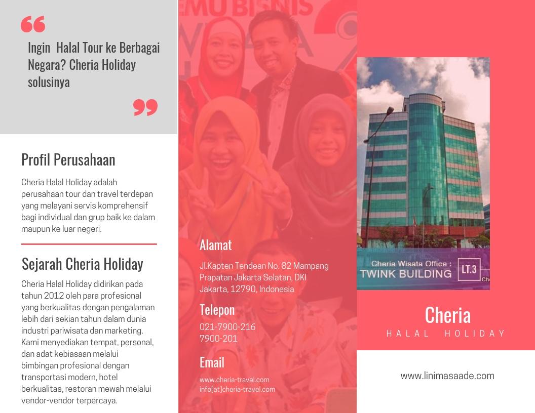 company profil cheria halal holiday