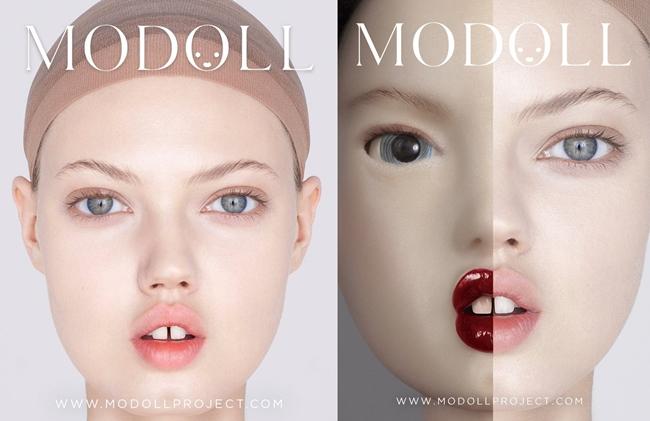 Same or Not:牙縫名模變身3D列印芭比娃娃