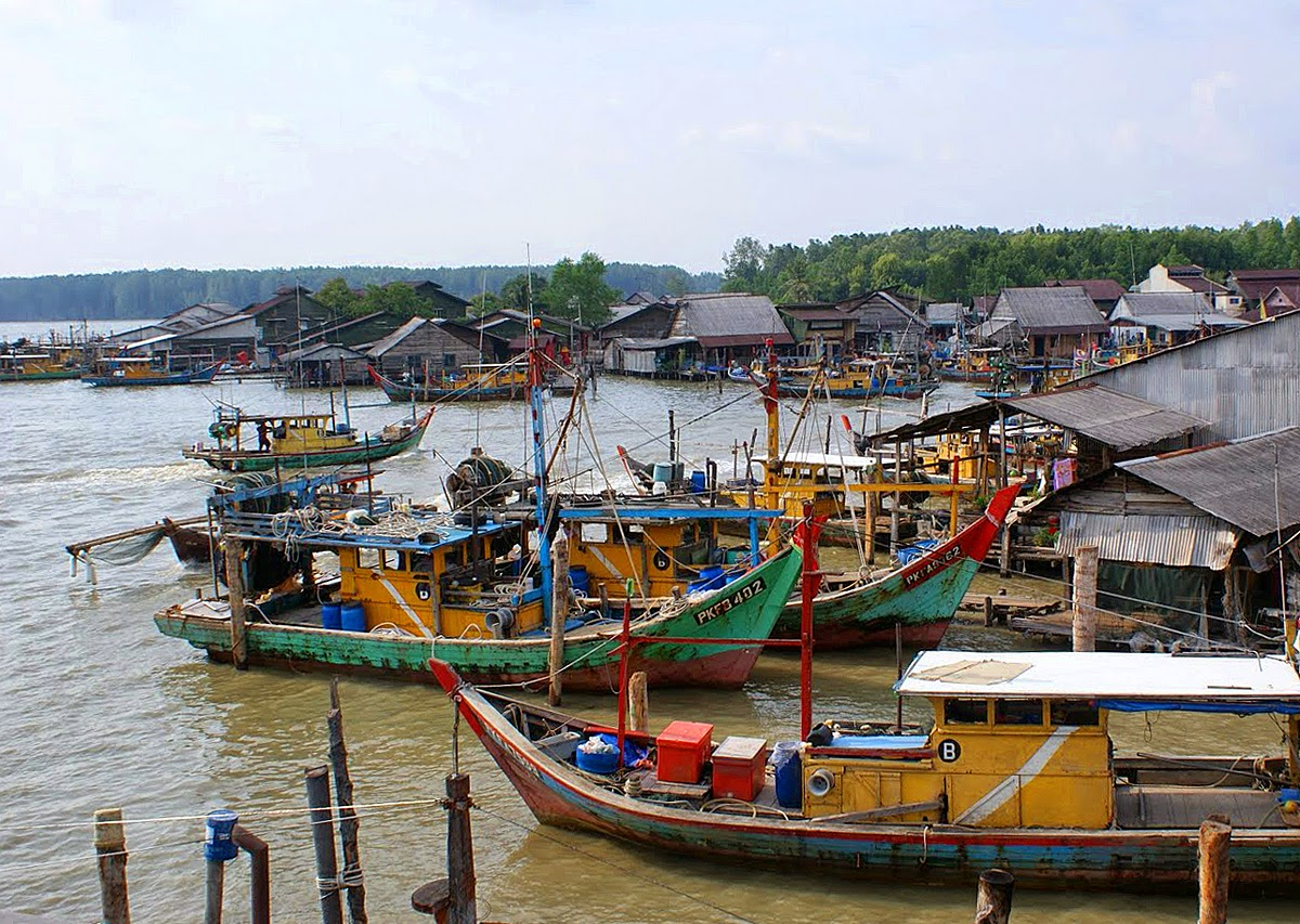 Bagan Tengkorak Fishing Village