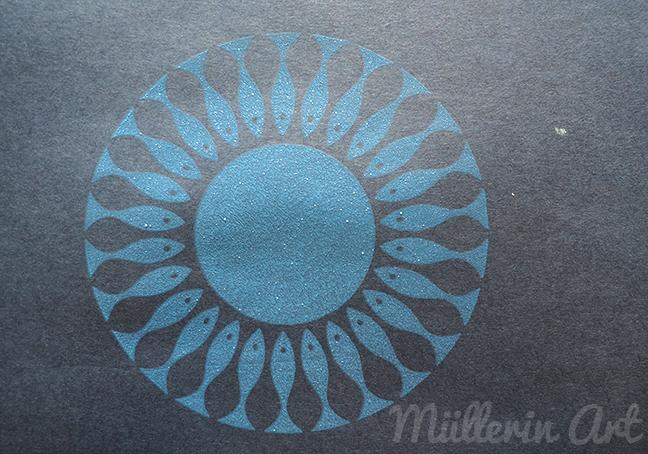 Siebdruck nach ©müllerinart