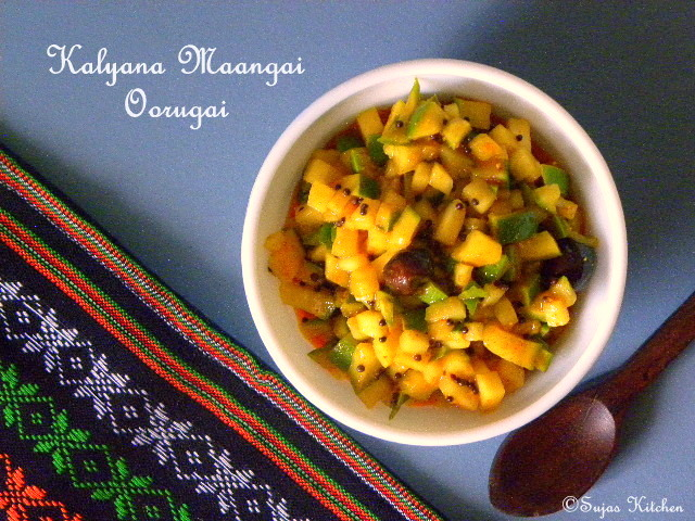 how to make mango pickle malayalam