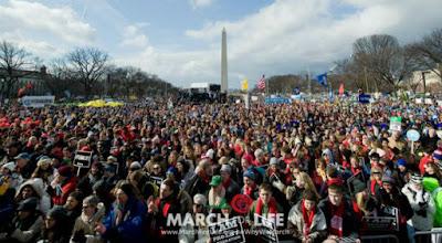 Περισσότεροι από 500.000 άνθρωποι διαδήλωσαν κατά των αμβλώσεων στις ΗΠΑ. (ΒΙΝΤΕΟ)