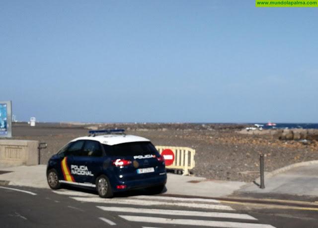 Una falsa alarma activa un operativo de búsqueda en la playa de Santa Cruz de La Palma