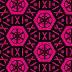 Mooie zwart roze abstracte achtergrond met leuke figuren
