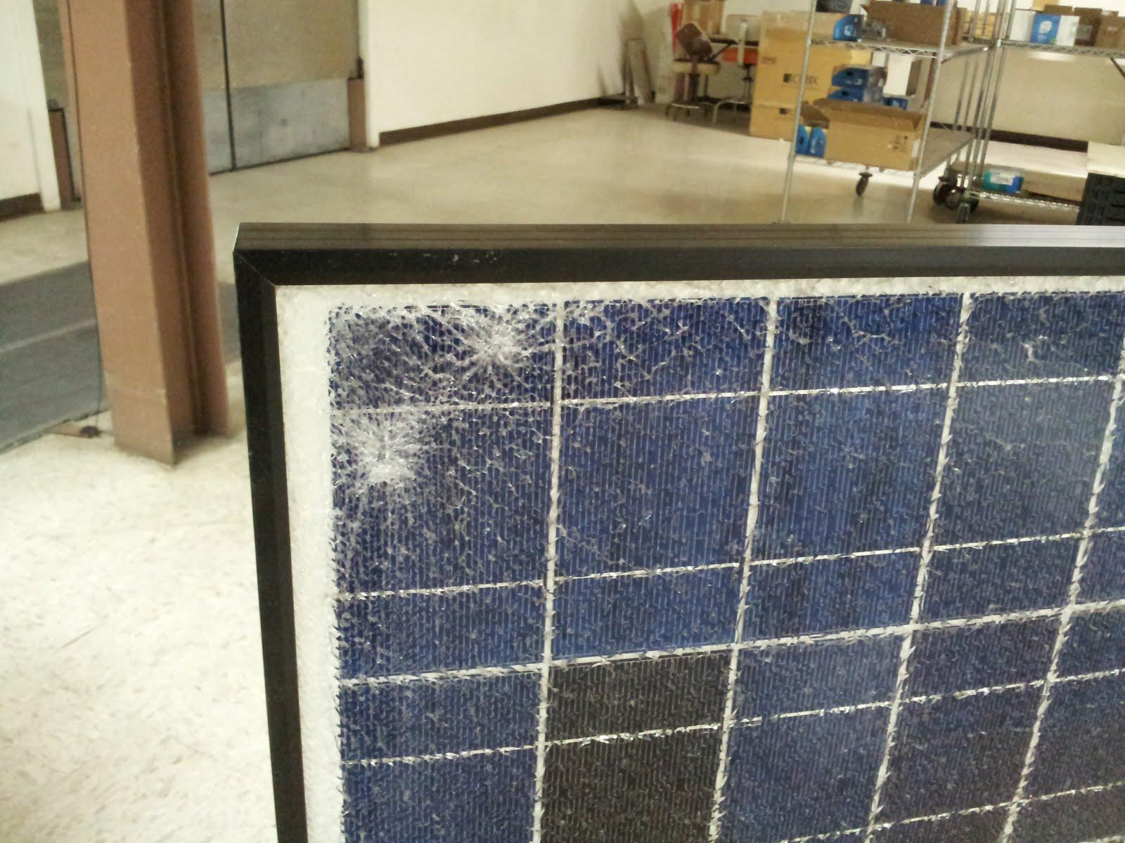 An Old Technician S Work Bench Broken Solar Panel Part 1