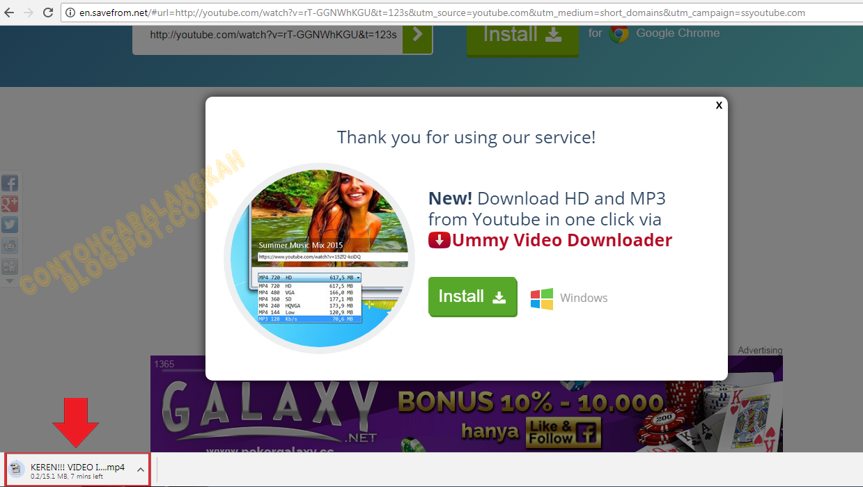 how to download mp4 from youtube on laptop