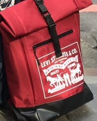 LEVIS防潑水筆電後背包