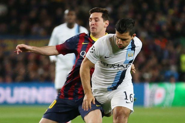 Messi dan Aguero
