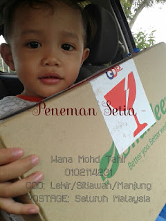 Kisah Mama Khyranaeem dan COD barang ke customer