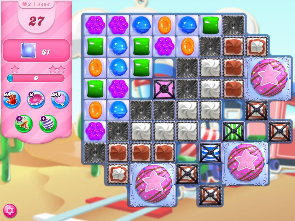 Candy Crush Saga level 4454