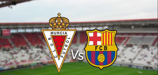 برشلونة وريال مورسيا بث مباشر