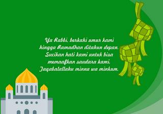 Terbaru Kumpulan Kartu ucapan Selamat Hari Raya Idul Fitri 1440 H tahun 2019