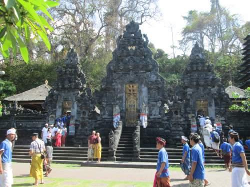 Objek wisata pura goa lawah (kabupaten klungkung)