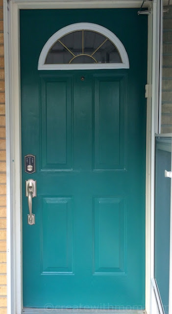 Renfrew Blue Fusion paint door
