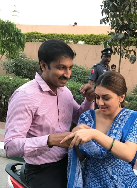 gopichand, hansika new movie working Stills