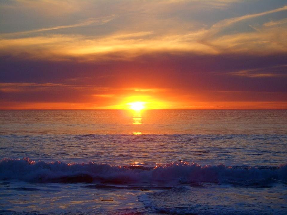 Lovable Images: SunRising In Sea Wallpapers Free Download