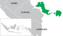 Peta Provinsi Kepulauan Bangka Belitung (Babel), http://id.ensiklopedia.dorar.info