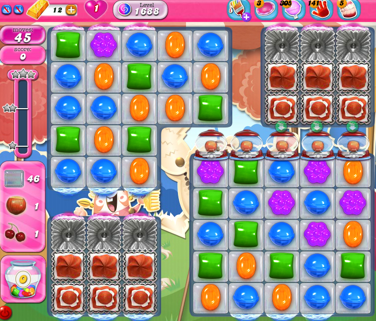 Candy Crush Saga 1688