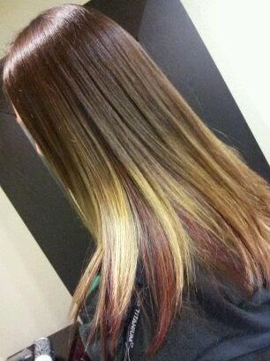 Salon Sovay Jenna Herrington S Ombre Hair Color Art