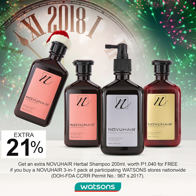 NOVUHAIR turns favor with Holiday bash promo #NovuhairOfficial #NovuhairHolidayPromo