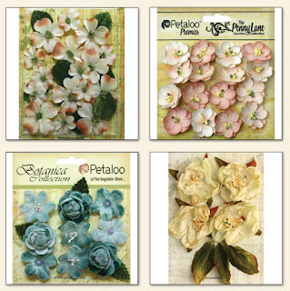 Scraps of Elegance February Garden Gala Kit Floral Add On