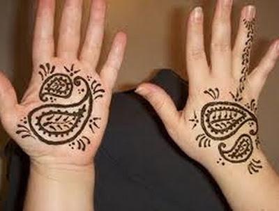 Mehndi Design For Kid