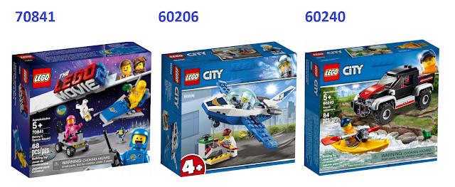"""Zestawy Lego nr 70841, 60206 i 60240 dostępne w promocji """"Buduj z kontem"""""""