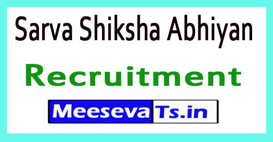 Sarva Shiksha Abhiyan SSA Recruitment