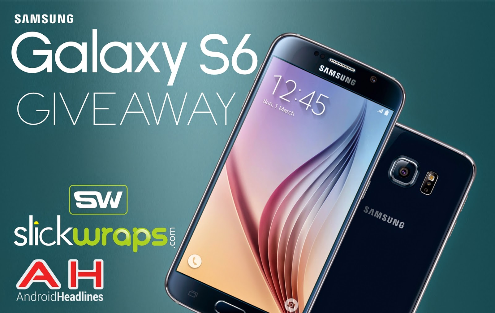 International Giveaway: Win a Samsung Galaxy S6 from Android Headlines and SlickWraps!