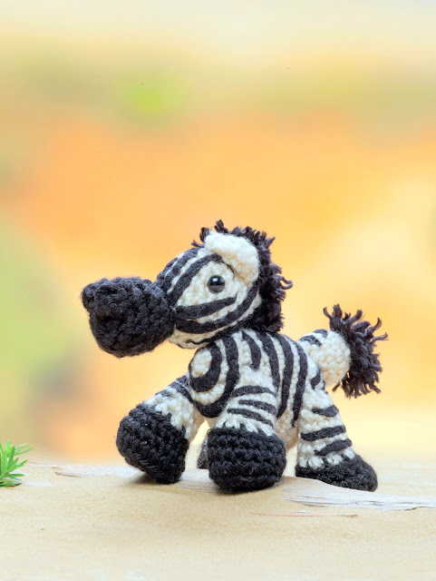 zebra Crochet pattern