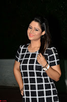 Shilpa Chakravarthy in Dark blue short tight dress At Srivalli Movie Pre Release Event ~  Exclusive Celebrities Galleries 051.JPG