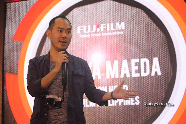 Takuya Maeda, Fujifilm Philippines' Division Head for Electronic Imaging and Photo Imaging.