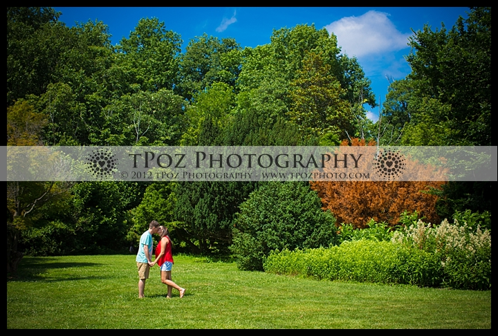 Cylburn Arboretum Engagement Session