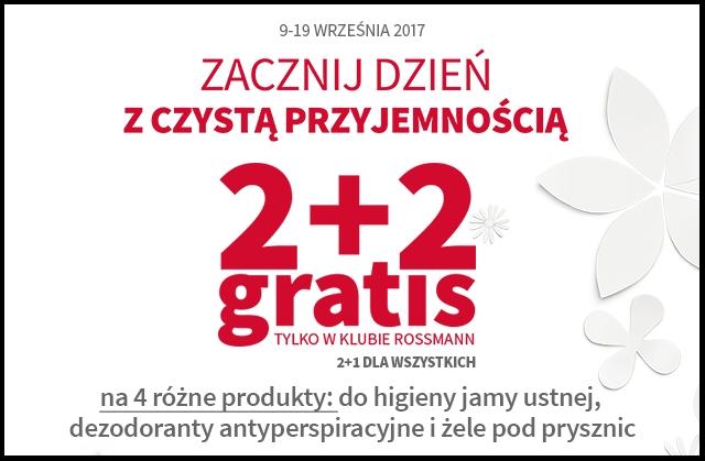 Rossmann 2+2. Zacznij dzień z czystą przyjemnością! Wyniki konkursu!